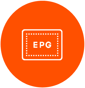 A feature of our solution is EPG