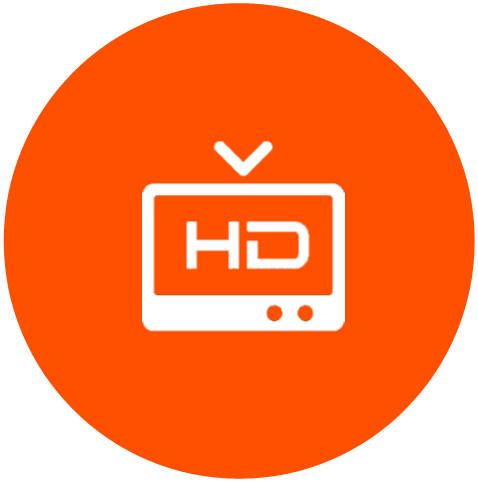 Our DVB solution can be provided in HD
